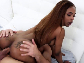 Teen takes two cocks first time Sarah Banks in Anal Assertio