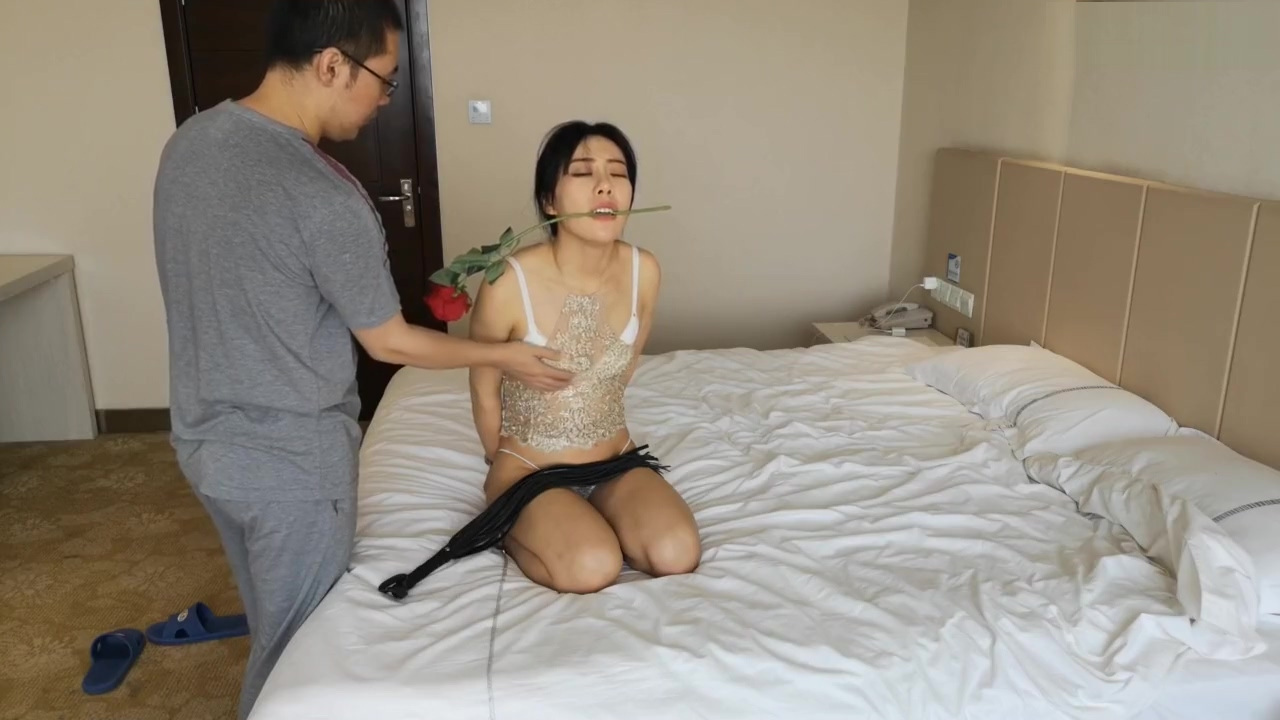 beautiful Chinese model bondage