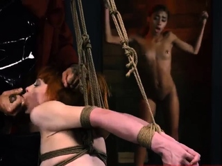 Water orgasm bondage Sexy youthfull girls, Alexa Nova and