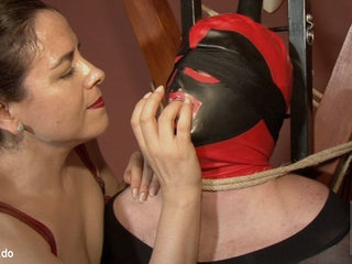 Patricia MedicalySado & Anna & Glitter Slut in Feminization And Ropes - KINK