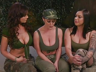 Army Anal Initiation by Two Dykes on a Recruit