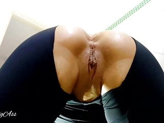 Human toilet , inside pee in my ass for my stepdaddy!!