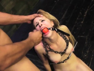 Slave ass fingering Helpless teenager Lily Dixon is lost and