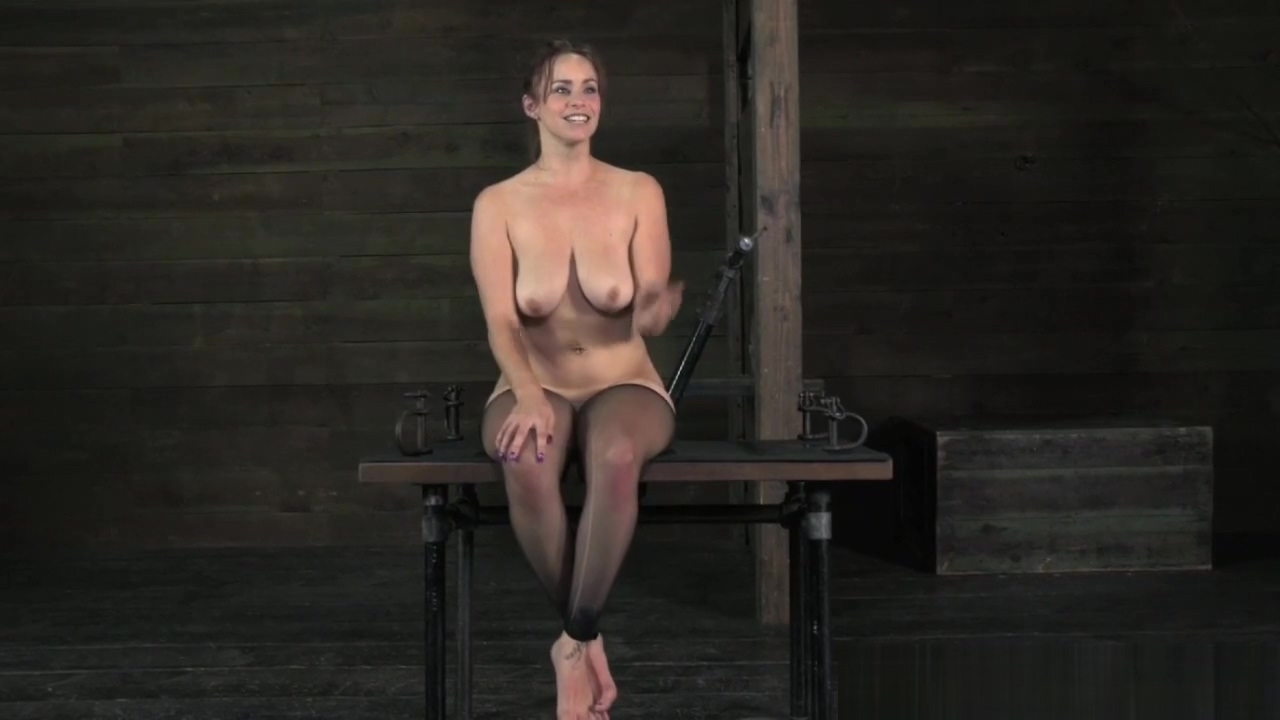 Busty submissive mouth gaped and asstoyed